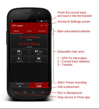 gps logger for android