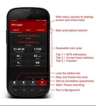 GPS Logger Poster