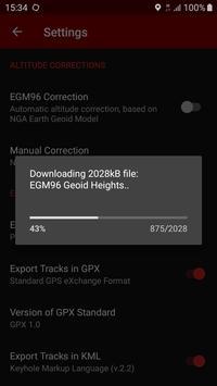 GPS Logger captura de pantalla 7