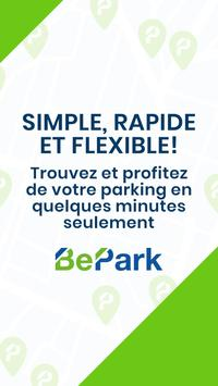 BePark - Accédez à votre parking Cartaz