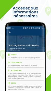 BePark - Accédez à votre parking imagem de tela 3