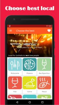 MeetEat - Chat & Dating New People screenshot 3