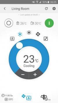 Daikin Online Controller screenshot 1