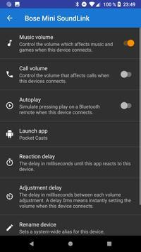 Quản lý âm lượng Bluetooth ảnh chụp màn hình 1