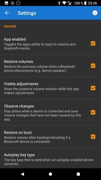 Quản lý âm lượng Bluetooth ảnh chụp màn hình 2