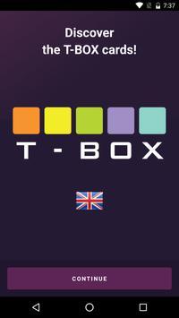 T-BOX app poster