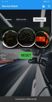 Dacia Service Reset poster