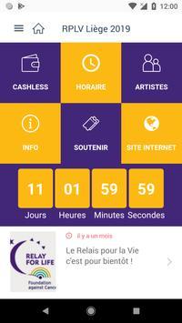 Relais pour la Vie Liège screenshot 1
