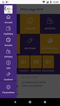 Relais pour la Vie Liège screenshot 2