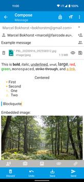 FairEmail, privacy first email screenshot 15