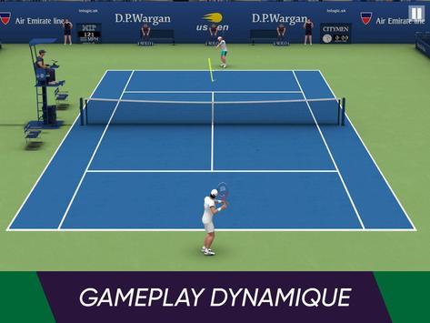 Tennis World Open 2021: Ultimate 3D Sports Games capture d'écran 4