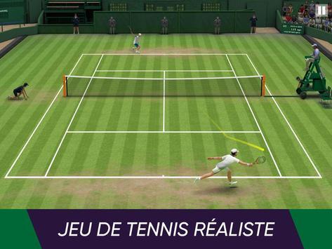 Tennis World Open 2021: Ultimate 3D Sports Games capture d'écran 1