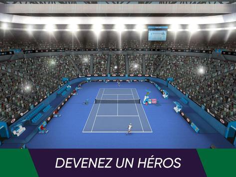 Tennis World Open 2021: Ultimate 3D Sports Games capture d'écran 2