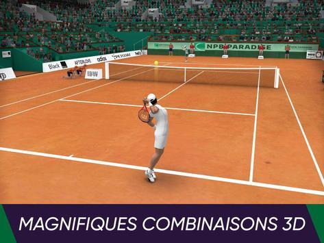 Tennis World Open 2021: Ultimate 3D Sports Games capture d'écran 3