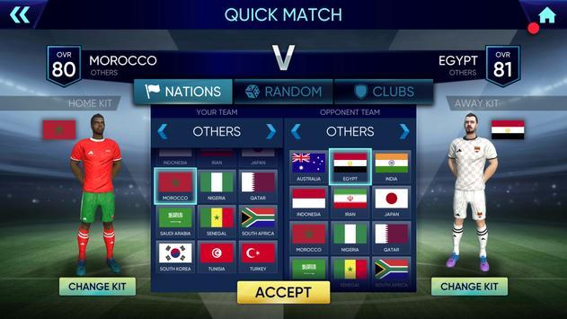 كأس العالم 2020: Free Ultimate Football League الملصق