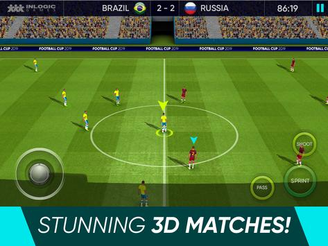 Soccer Cup 2021: Free Football Games screenshot 4