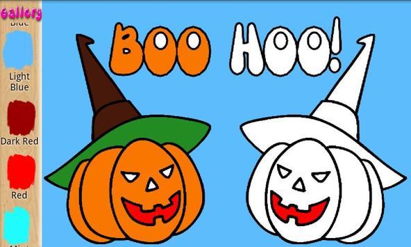 Children Color Halloween Free screenshot 2
