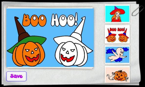 Children Color Halloween Free screenshot 3