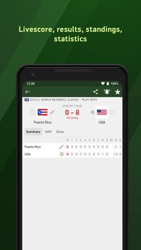 Baseball 24 - live scores screenshot 1