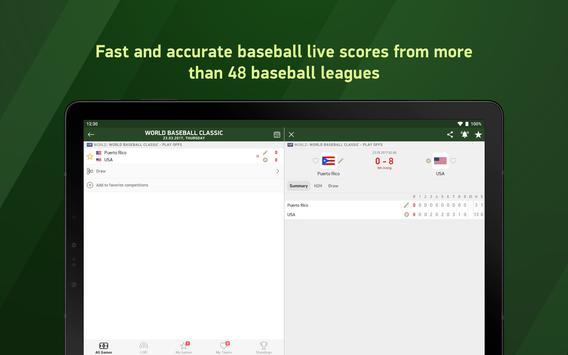 Baseball 24 - live scores screenshot 4