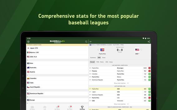 Baseball 24 - live scores screenshot 5