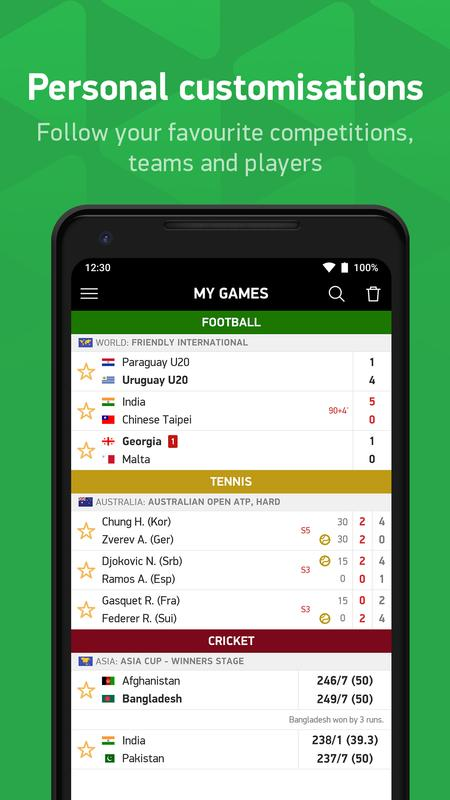 Flashscore India For Android Apk Download