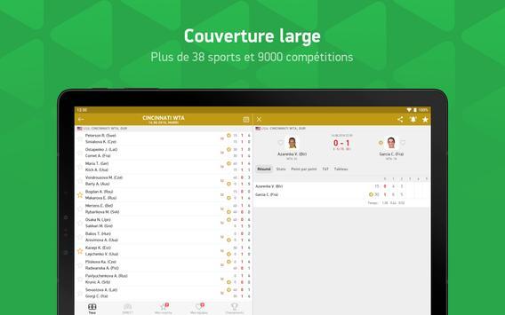 FlashScore - flash résultats en direct capture d'écran 7