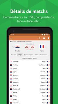 FlashScore - flash résultats en direct capture d'écran 3