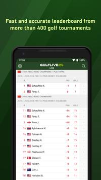 Golf Live 24 - golf scores 海报
