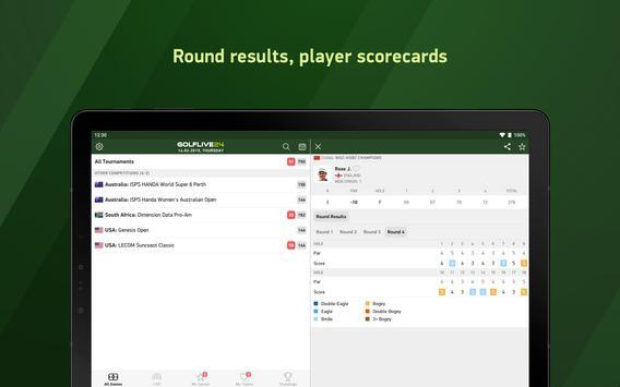 Golf Live 24 - golf scores 截图 6