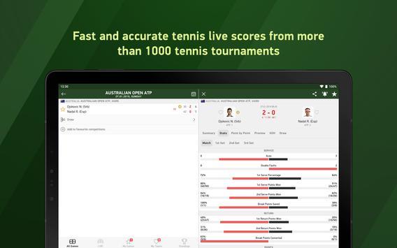Tennis 24 - tennis live scores screenshot 5