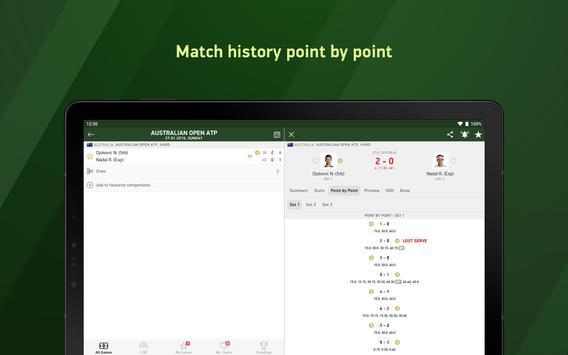 Tennis 24 - tennis live scores screenshot 6