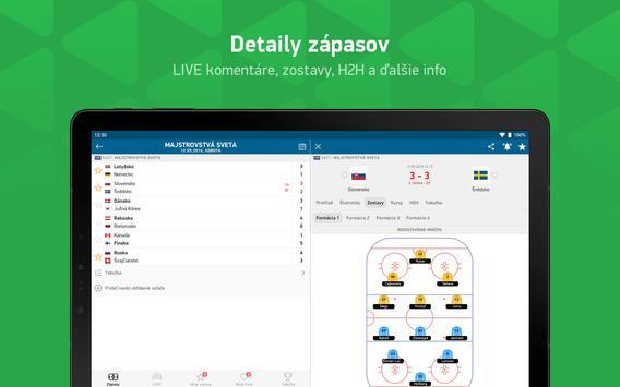 FlashScore - športové výsledky screenshot 8