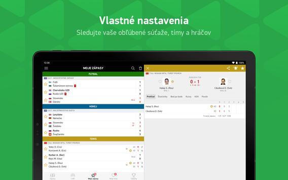FlashScore - športové výsledky screenshot 9