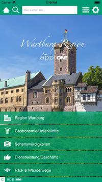 Wartburg Region app|ONE poster
