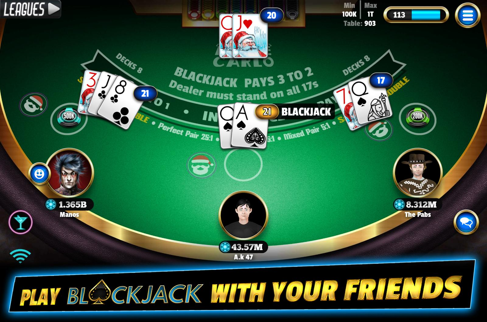 BlackJack 21 - Online Blackjack multiplayer casino for Android - APK  Download