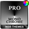 MonoChrome Pro - Xperiaのテーマ アイコン