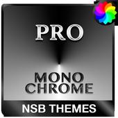 MonoChrome Pro: Czarny Motyw ikona