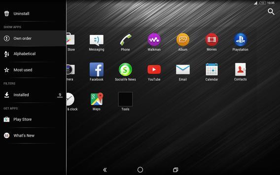MonoChrome Pro: Czarny Motyw screenshot 10