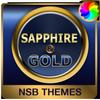 サファイア&ゴールド - Xperiaのテーマ アイコン