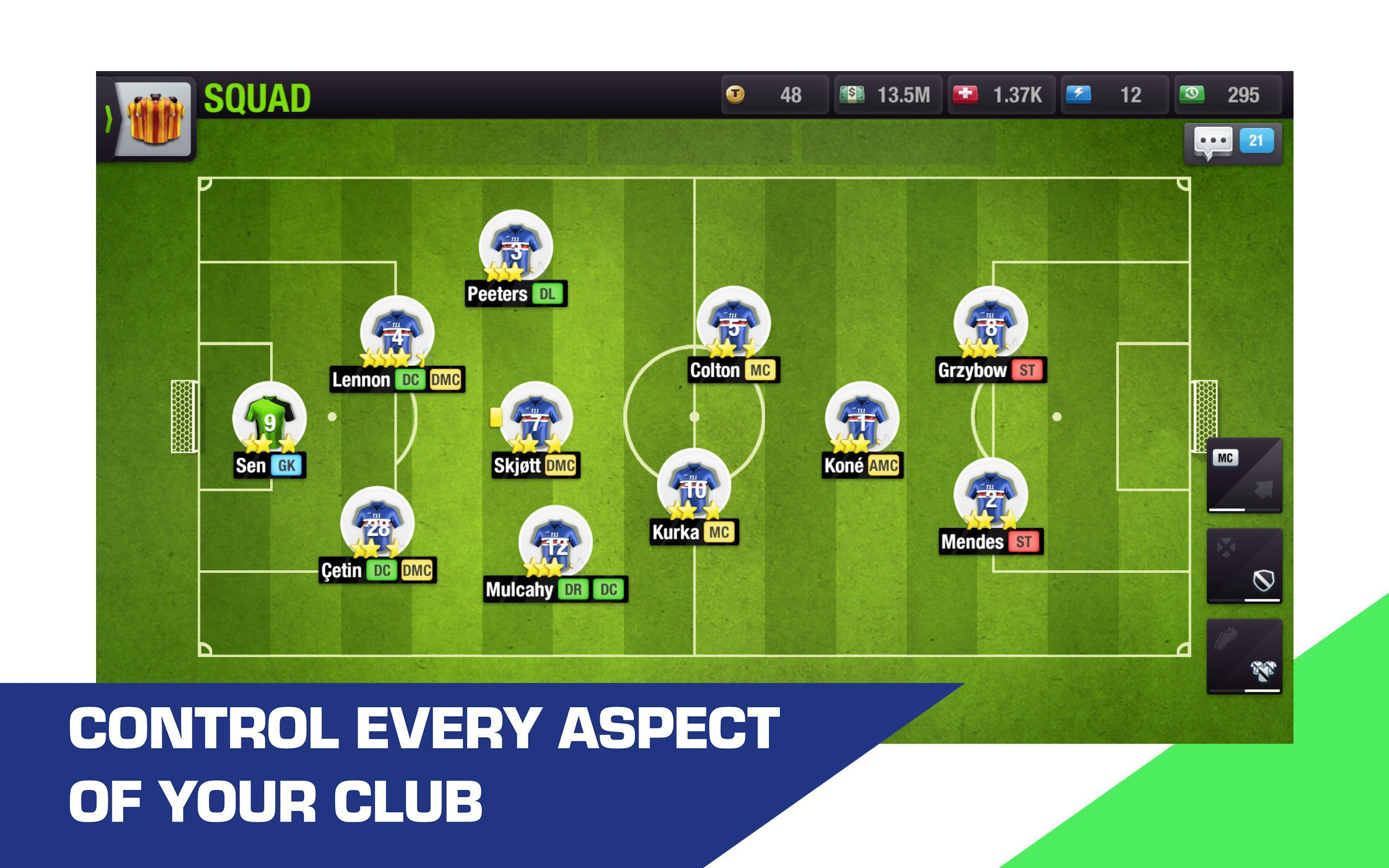 Top Eleven for Android - APK Download