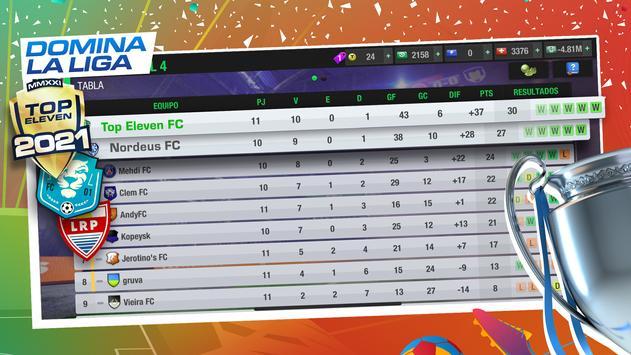 Top Eleven captura de pantalla 4