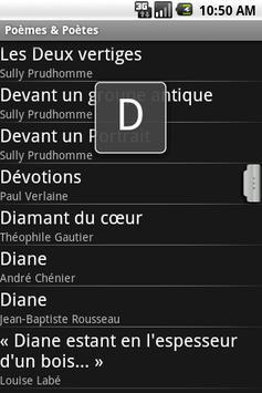 Poèmes & Poètes screenshot 1