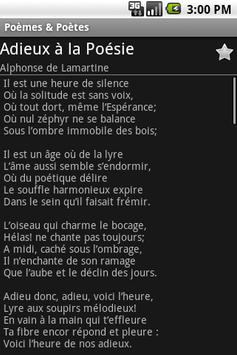 Poèmes & Poètes screenshot 2