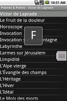 Poèmes & Poètes screenshot 3