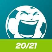 Fußball EM App 2020 in 2021 Spielplan & Ergebnisse Zeichen