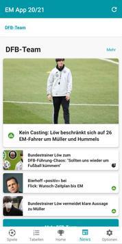 Fußball EM App 2020 in 2021 Spielplan & Ergebnisse Screenshot 4