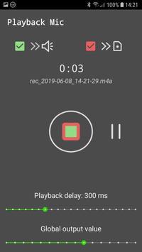 Playback Mic screenshot 3