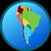 Mapa Ameryki Południowej ikona