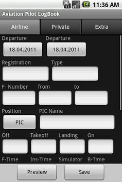 Aviation Pilot LogBook 스크린샷 2